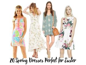 20 spring dresses for easter header