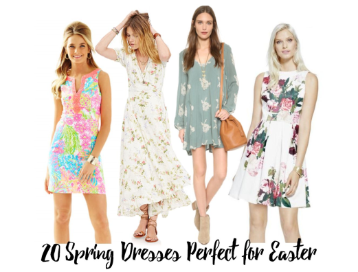 20 spring dresses for easter header