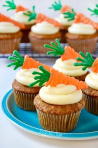 moist-carrot-cupcakes-cream-cheese-frosting just a taste