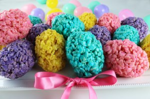 rice-krispie-easter-eggs-two sisters crafting