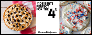 10 desserts for fourth of july post
