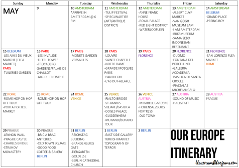 travel-europe-itinerary-calendar