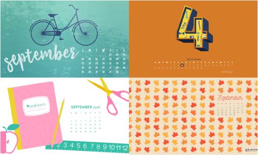 September 2016 Calendar Wallpaper 2