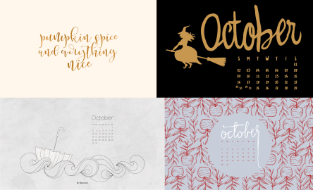 october-calendar-wallpaper