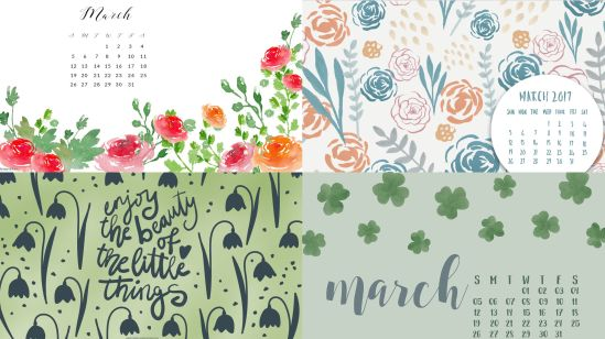 march-2017-montlhy-calendar-background