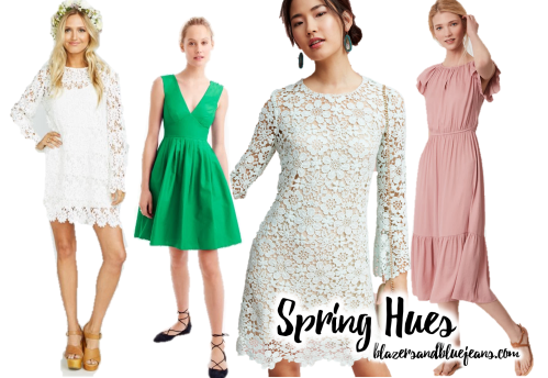 bright spring colors easter dresses