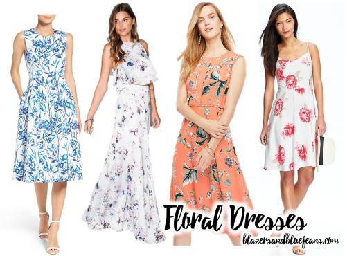 spring florals easter dresses