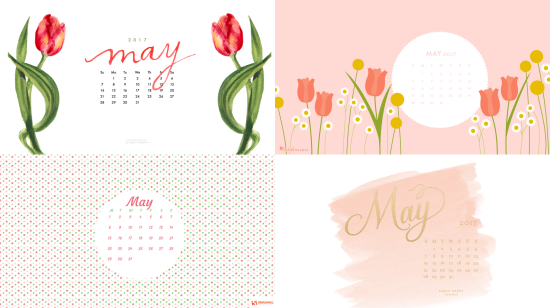 may 2017 calendar background