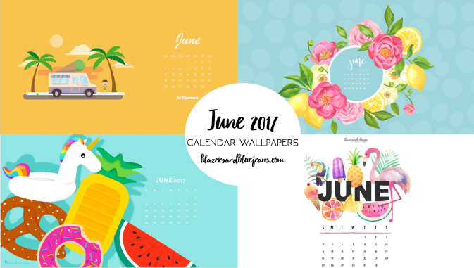 june 2017 calendar backgrounds