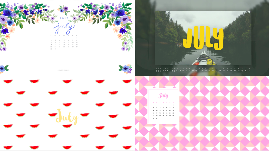 Calendar Wallpaper July 2015 : July calendar wallpapers blazers and blue jeans