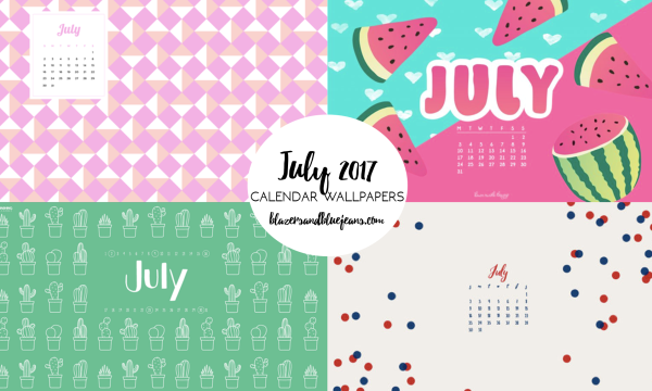 july 2017 calendar backgrounds