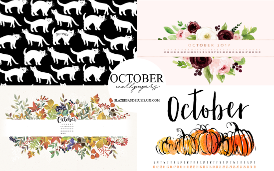 october 2017 calendar backgrounds