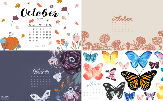 october 2017 desktop wallpaper