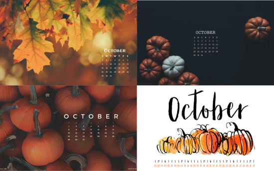 october calendar wallpapers 2
