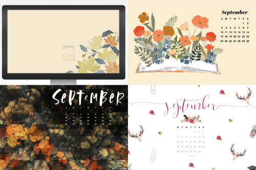 september 2017 calendar wallpapers