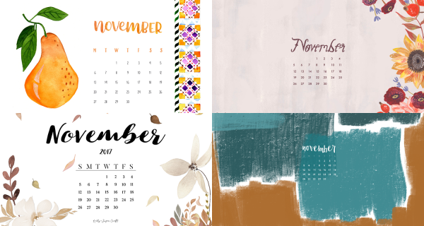 november 2017 calendar backgrounds
