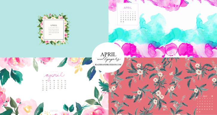 april 2018 calendar wallpapers