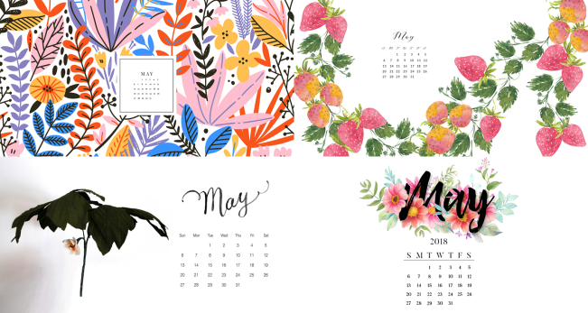 may 2018 calendar backgrounds