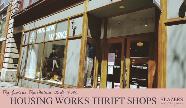 Housing Works Thrift Shops Manhattan_best thrift stores